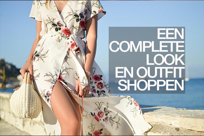 een complete look en outfit shoppen