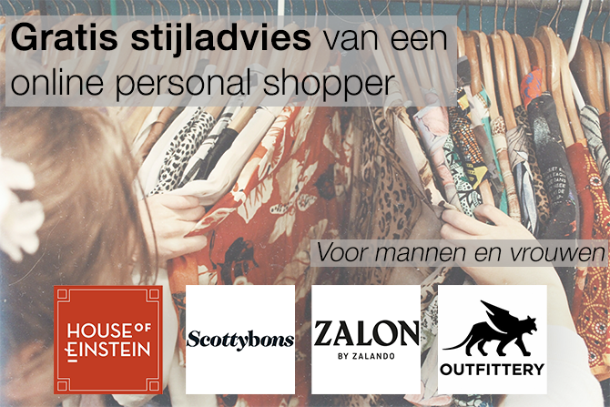 gratis stijladvies van een online personal shopper