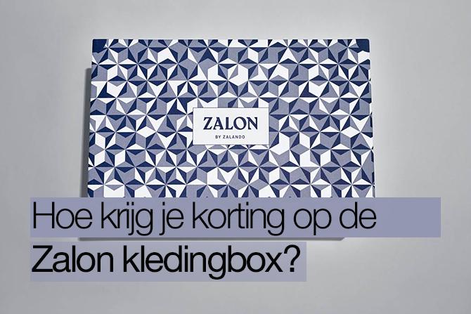 Zalon kortingscode